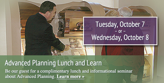Advanced Planning Lunch and Learn